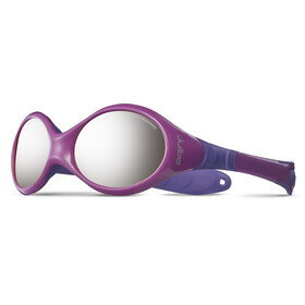 Julbo Baby Looping III Spectron 4 Sunglasses 2-4Y Pink/Purple-Gray Flash Silver